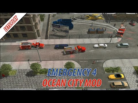 Emergency 4 Ocean City Mod -  Episode 2 -  Illegal Demonstration Gets Out of Hand!