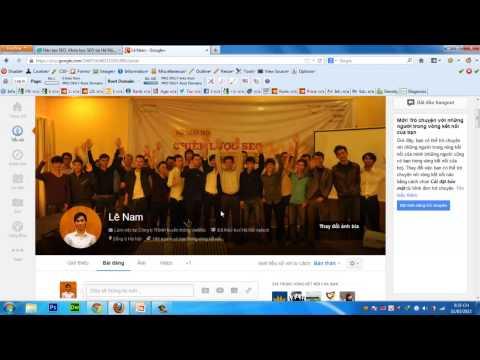 Hướng Dẫn Tạo Google Author - Đào Tạo SEO VietMoz