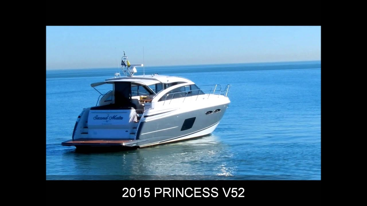 2015 Princess V52 Jefferson Beach Yacht Sales