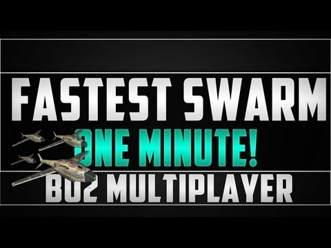 One of the Fastest Swarms Ever! - Call of Duty Black Ops 2 'Multiplayer'