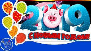 НОВЫЙ ГОД 2019 год Свиньи С НОВЫМ ГОДОМ Бесплатные Новогодние Переходы поросята для ProShow Producer