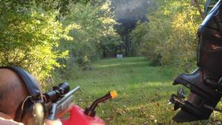 Repeat youtube video .444 Magnum Elephant Gun vs a Fire Extinguisher (iPhone 4S Quality Test)
