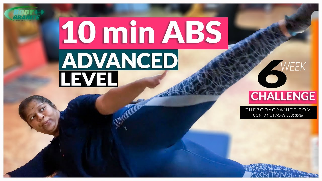 10 Min Advance Abs Workout 🔟 Loss Belly Fat in 6 week at Home 🙋 Belly Fat burning workout Routine