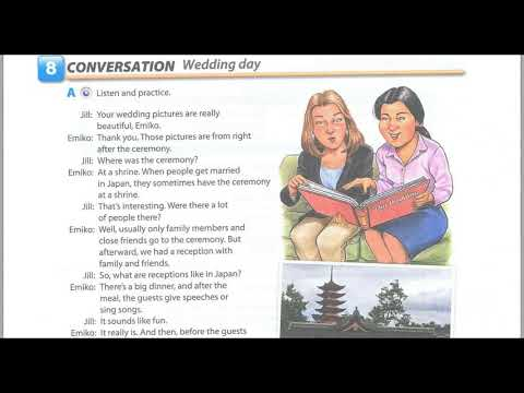 Book 2  interchange 4th editions Learning English Unit 8   Let's Celebrate   Interchange 4 Edition L