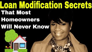 Loan Modification Secrets| Loan Modification Explained