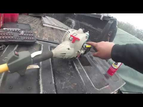 FREE RYOBI CS26 Weed Wacker HOW TO REPLACE CARB & Fuel Lines