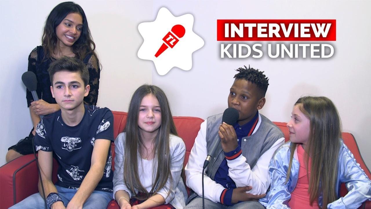 les kids united racontent leur concert pour kate et. Black Bedroom Furniture Sets. Home Design Ideas