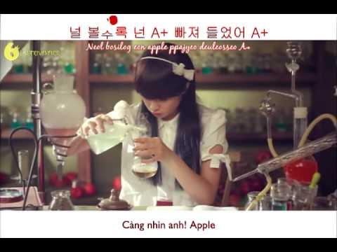 [Hangeul+Romaji+Vietsub] T-ara - Apple Is A+ (Apple Song)