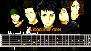 Helena - My Chemical Romance Guitar Cover Lesson