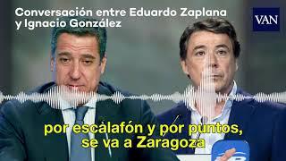 Caso Lezo: Conversación entre Ignacio González y Eduardo Zaplana