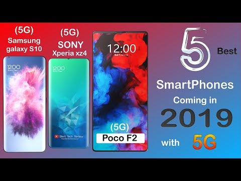 5 Best 5G Upcoming Smartphones  IN 2019 |  5G Supported, NFC,Hole Camera  And Many More.