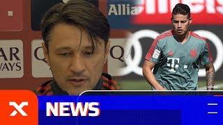 Niko Kovac über James Rodriguez, BVB-Jagd und den FC Liverpool | SPOX
