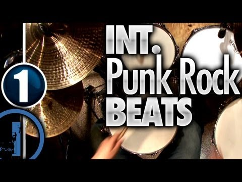 Intermediate Punk Rock Drum Beats