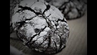 No Oven Chocolate Crinkles | How To Make Chocolate Crinkles Without Oven
