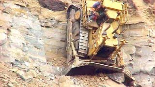 World Dangerous Idiots Bulldozer Heavy Equipment Operator Skill - Fastest Working Bulldozer Driving thumbnail