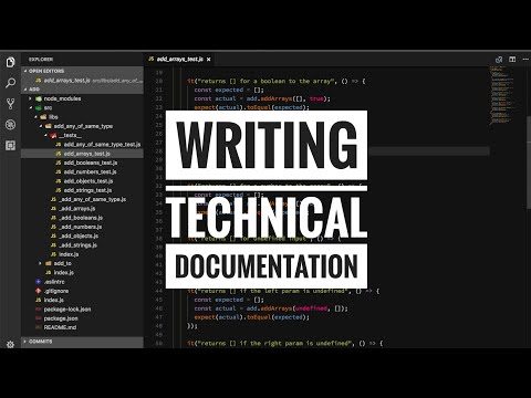 How to do a software engineering project documentation
