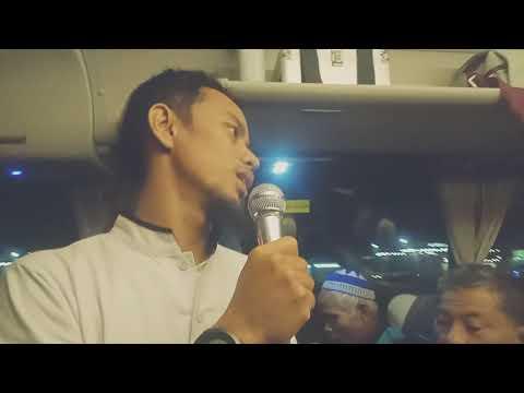 Penjelasan Perjalanan Bus Jedah ke Madinah oleh Rahmat Satria Buana