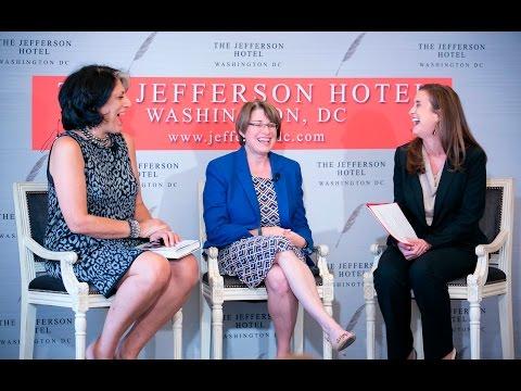 Washington Women Technology Network luncheon with Senator Amy Klobuchar