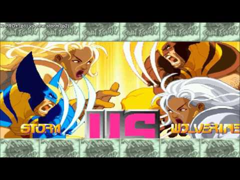 [HD] - Fightcade - Xmen Vs Street Fighter - X-PRO+(BRA) Vs New-Storm(BRA) - Part 1