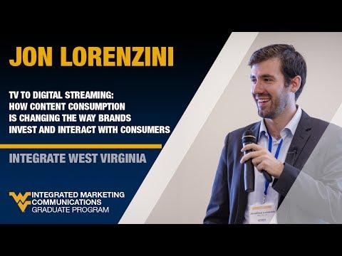 Jon Lorenzini - INTEGRATE West Virginia