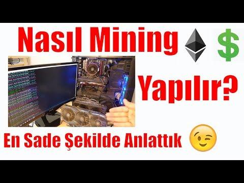 Nasıl Mining Yapılır? En Sade ve Basit Şekilde Anlattık - Ethereum Mining Ekran Kartı Madenciliği