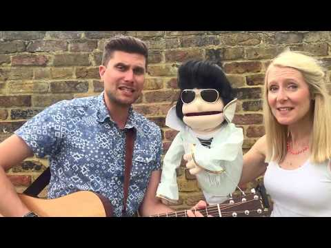 Rock (me) around the clock // Elvis Presley the Puppet