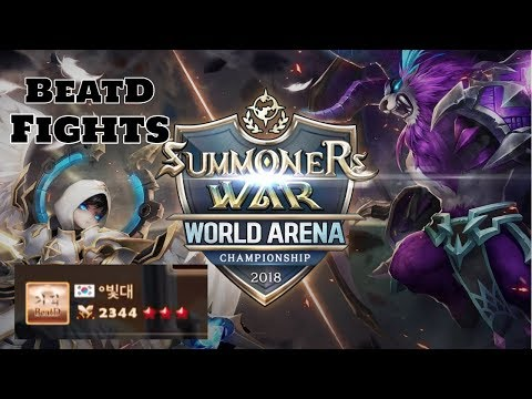 Summoners War Asia Pacific Cup Korea Preliminary BeatD Fights