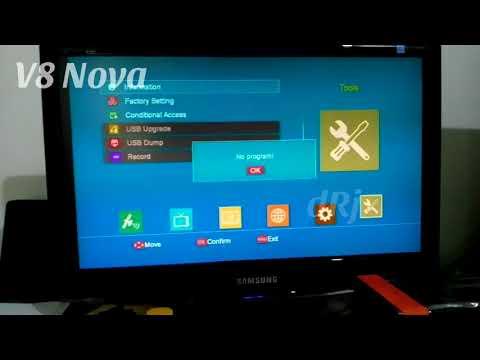 FreeSat GTMedia V8 Nova Satellite Receiver