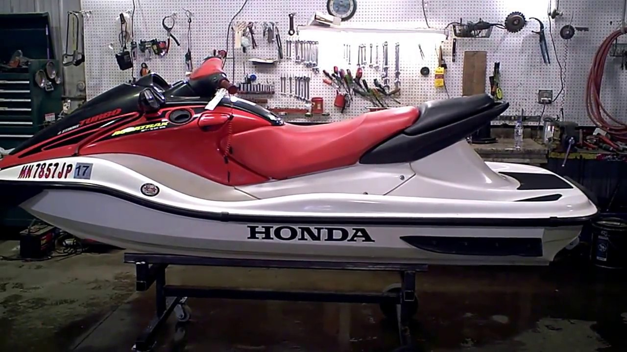 2002 honda f 12x turbo aquatrax jet ski tear down into parts lot rh youtube com