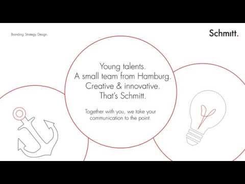 Schmitt. GmbH Branding. Strategy. Design. - English