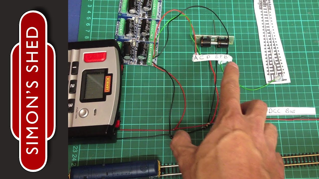 Fitting Point Motors Controlled By Dcc