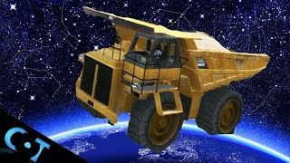 GTA Online: Gate Glitch Launches Dump Truck Into Space + Deep Sea Survival Glitch