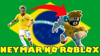 NEW UNIFORM AND HAIR OF NEYMAR JR BRAZILIAN NATIONAL TEAM AT ROBLOX!