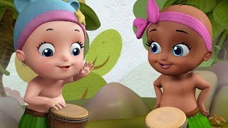 Baby Dance Cartoon Video Jungle Edition | Infobells