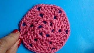 Вязание крючком Урок 221 Шестиугольник Crochet hexagon motif