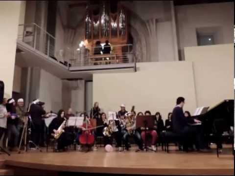 2014 03 24 Conservatorio Profesional Musica Salamanca Concierto MAS RUIDO Y MENOS MUSICA