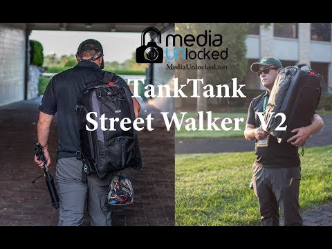 Review Of The ThinkTank Photo Street Walker Rolling Backpack Version 2 Camera Bag
