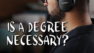 """Is a degree necessary? A discussion on the """"value"""" of an art school..."""