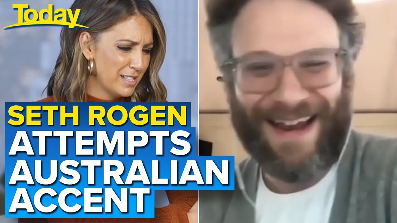 Seth Rogen's bad Aussie accent and Trump takedown | Today Show Australia