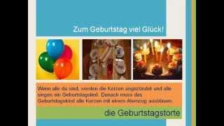 Geburtstagsfeier in Deutschland