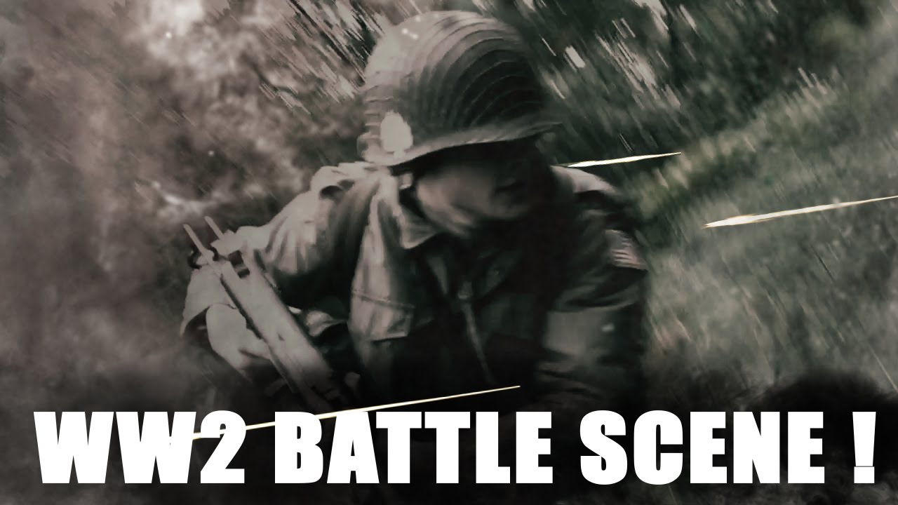 Adobe After Effects - World War 2 Battle Scene / Band of ...