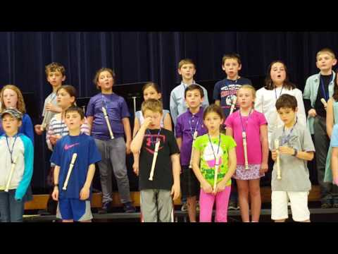 50 Nifty states 4th grade concert may 2016