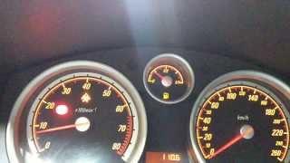 Opel Astra H 2.0 Turbo 0-160km/h short test Z20LEL