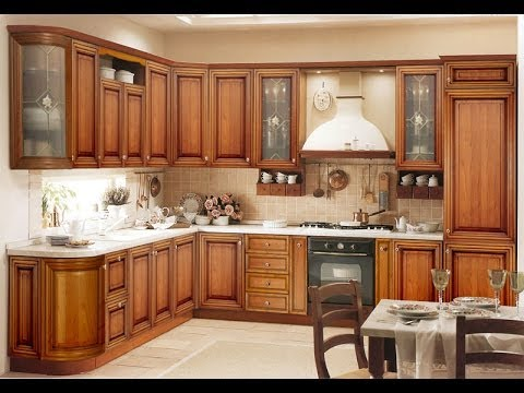 Kitchen Cabinet Designs In India kerala style kitchen cabinet design and styles - YouTube