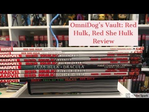 Root Beer Reviews: Comics Review: Red Hulk, Red She-Hulk