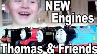 Thomas And Friends: New Locomotives For Brio Wooden Railway System / Brio Holz Eisenbahn Neue Loks
