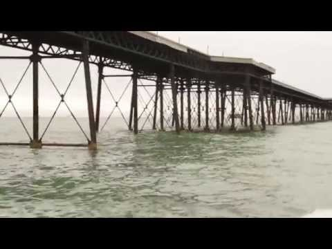 Isle of Man - Ramsey Queens Pier Restoration - Accessing the damage