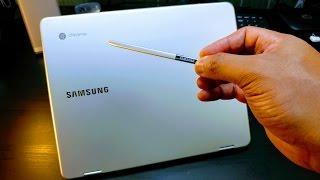 Samsung Chromebook Plus with S-Pen (Unboxing / Gaming demo)