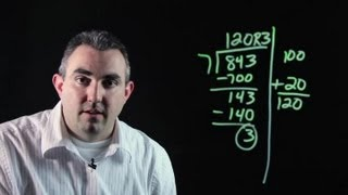 How To Use Lattice Method For Division : Algebra, Geometry & Other Math Tips