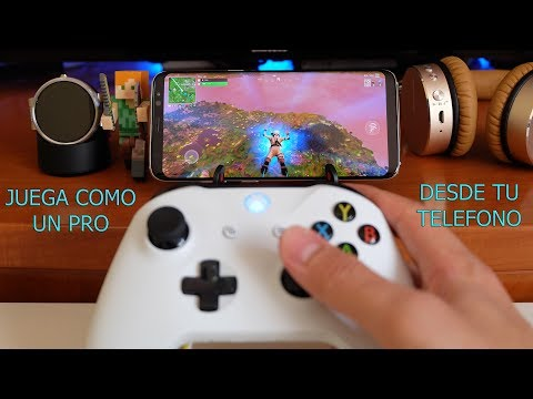 Jugar fortnite, free fire, pubg con mando de xbox one, playstation 4 o gamepad en android.